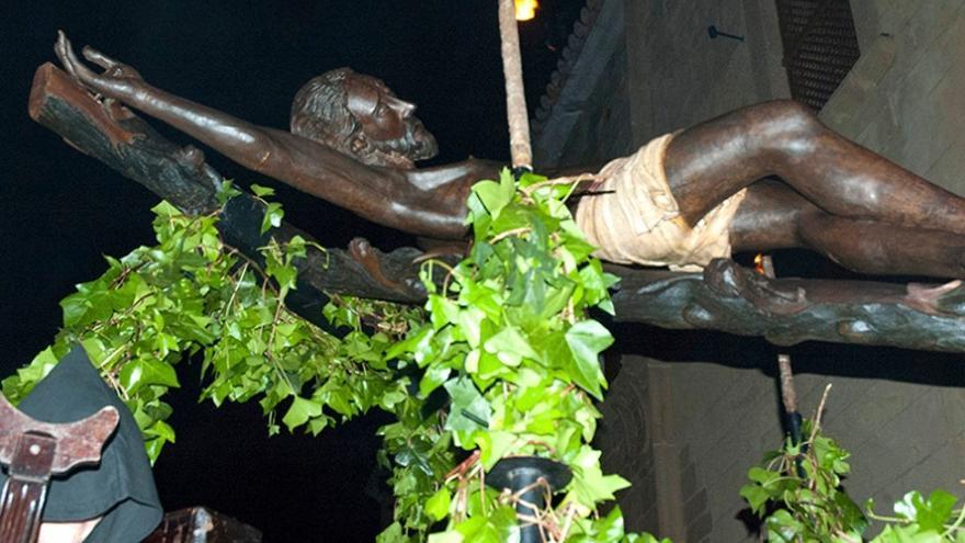 Procesión del Cristo Negro en Cáceres / Turismo Extremadura