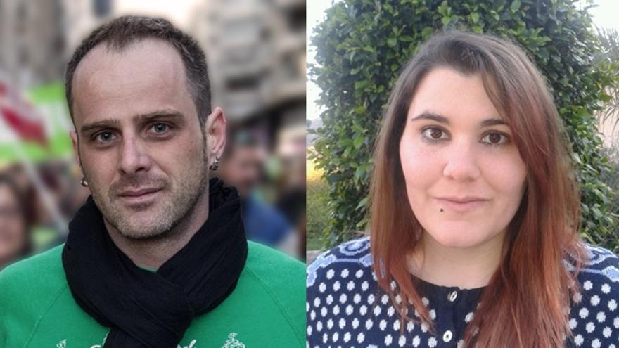 Ángel Luis Hernández y Leticia Garrido, aspirantes a encabezar la lista de Ganar Archena