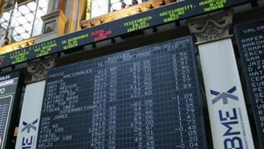 Las empresas del Ibex elevan un 26% su beneficio hasta marzo