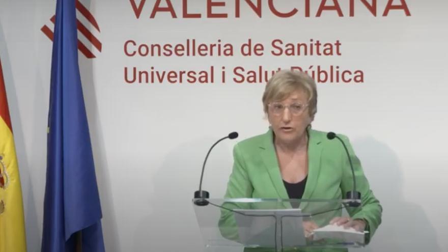 La consellera de Sanitat Universal i Salut Pública, Ana Barceló.