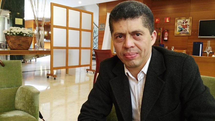Pablo Fajardo, abogado contra Chevron