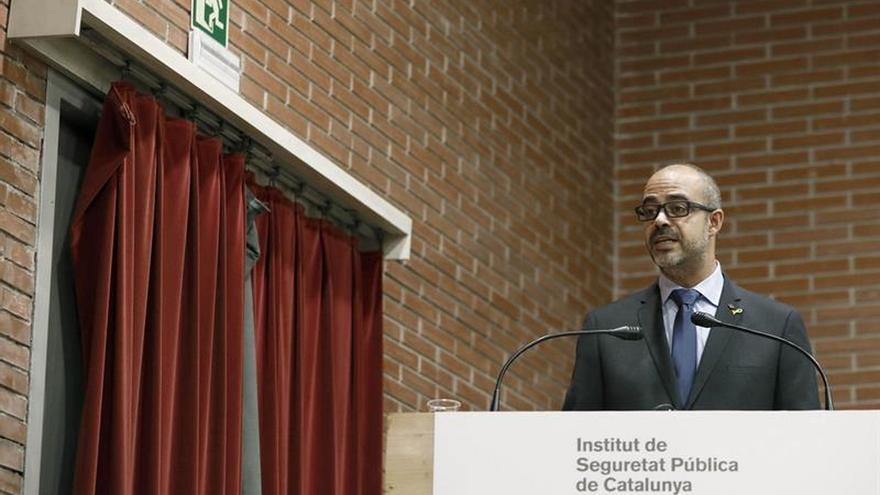 El conseller de Interior, Miquel Buch, este viernes