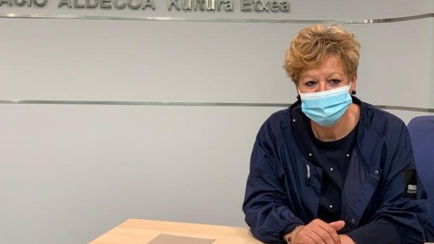 Archivo - La diputada de Cultura de Álava, Ana del Val.