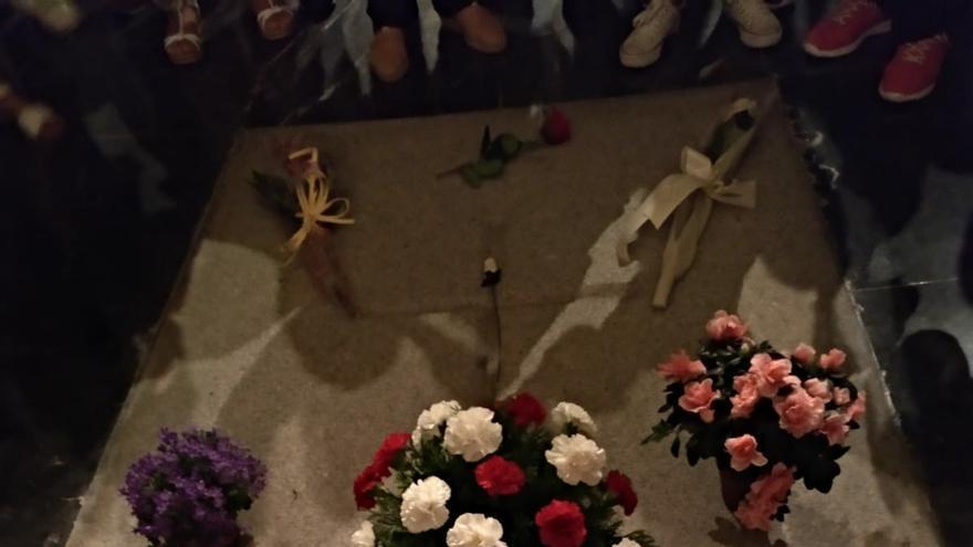 La tumba de Franco.