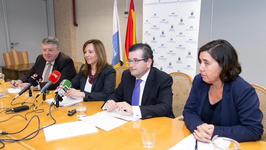 Las líneas de actuación del convenio para 2016 para la recuperación y conservación del entorno natural en Canarias se han presentado este martes,