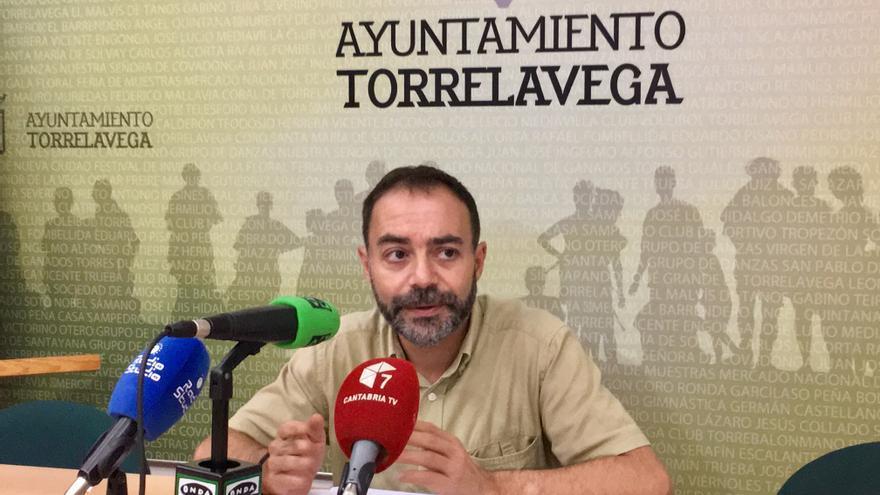 Iván Martínez, portavoz de ACPT en Torrelavega. | ACPT