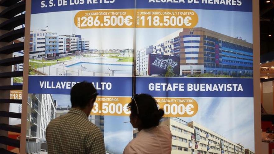 La firma de hipotecas para la compra de vivienda crece el 21,4 por ciento en abril