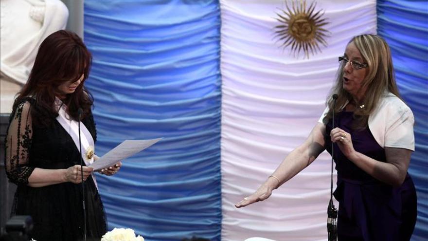 Fernández viaja a la provincia de Santa Cruz para la asunción de su cuñada