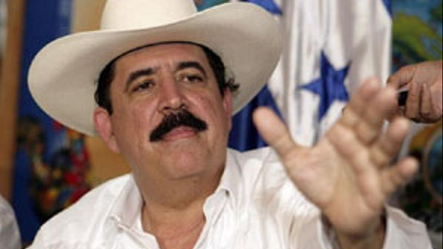 Manuel Zelaya. (REUTERS)