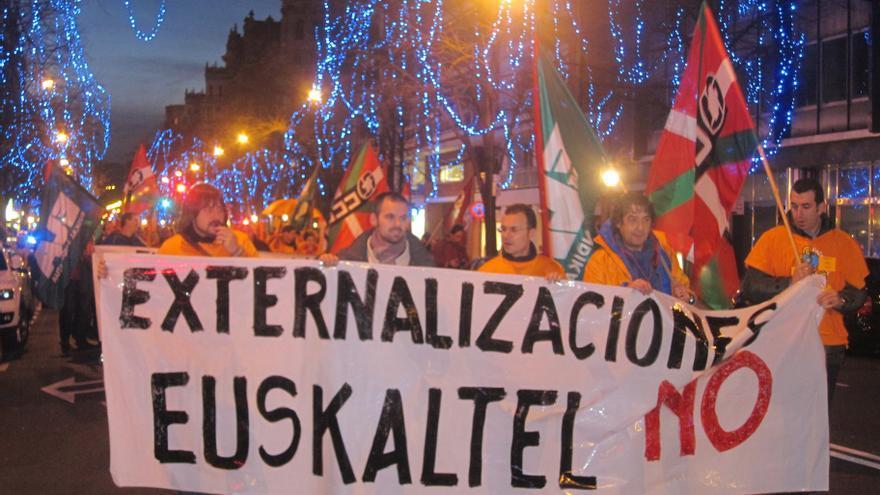 El comité de Euskaltel convoca a los trabajadores a una asamblea este próximo lunes
