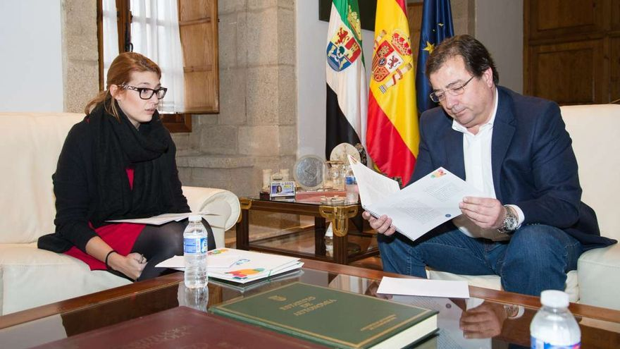 Elena Ruiz presidenta Consejo Juventud Extremadura Vara