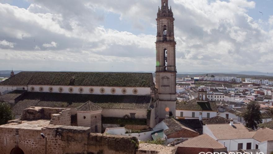 Imagen de la localidad cordobesa de Bujalance   MADERO CUBERO