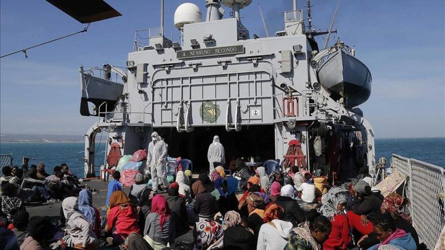 Italia rescató a 73.686 inmigrantes desde el inicio dispositivo Mare Nostrum