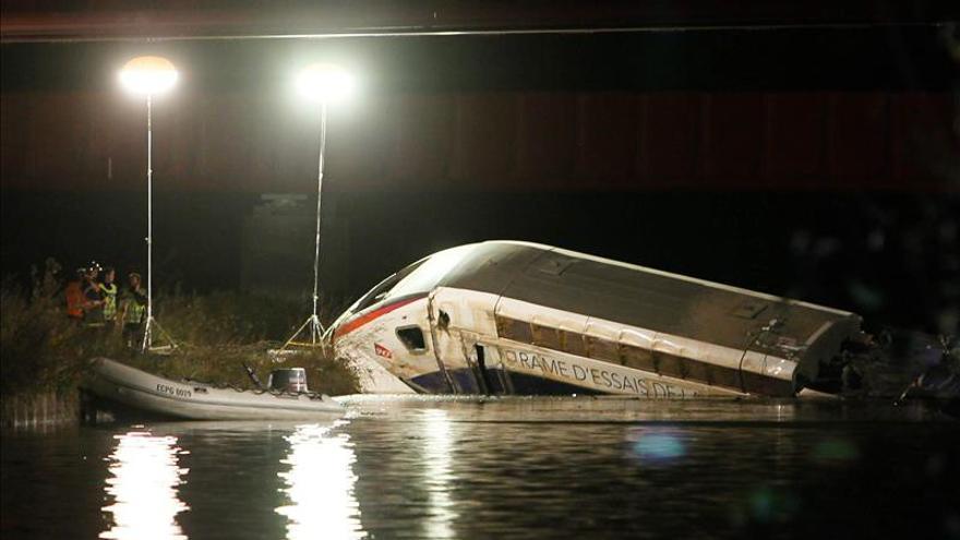 Aumentan a 7 los muertos por el descarrilamiento de un tren en Alsacia