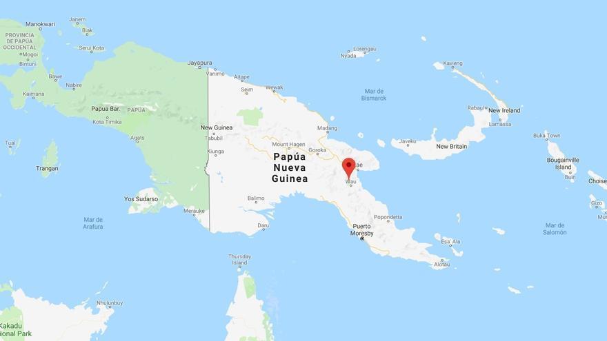 Un terremoto de 7,2 grados sacude Papúa Nueva Guinea