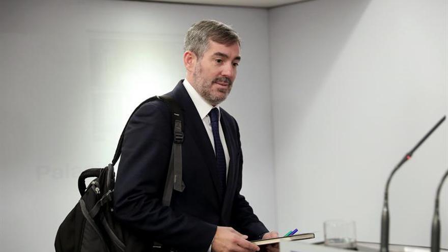 Clavijo anuncia el desbloqueo de la agenda canaria tras reunirse con Sánchez