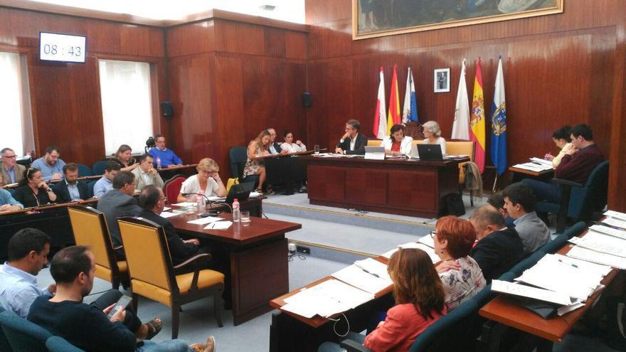 Pleno del Ayuntamiento de Santander   RUBÉN ALONSO