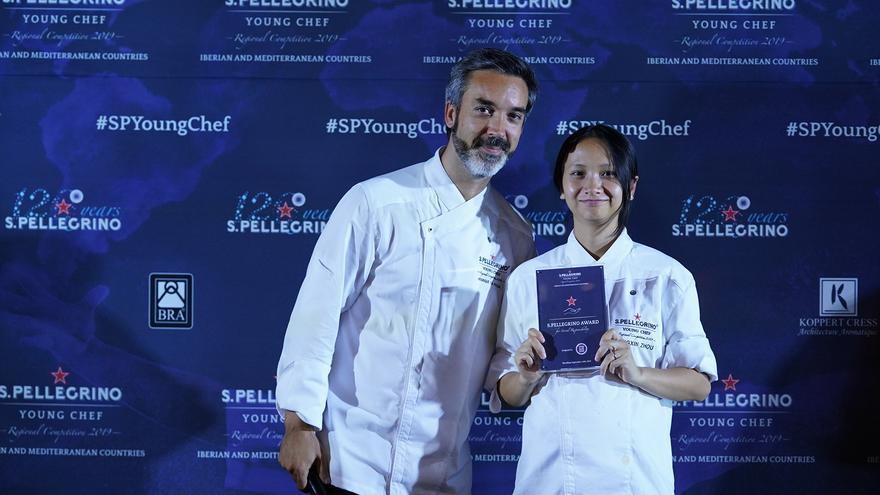 Mengxin Zhou, chef del restaurante Somiatruites (Igualada, España).