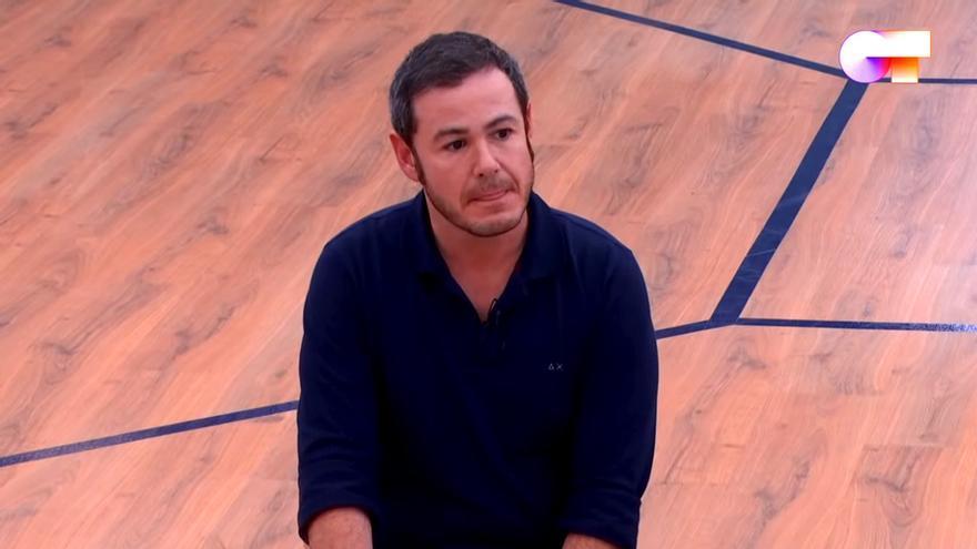Iván Labanda pidiendo disculpas en 'OT 2020'