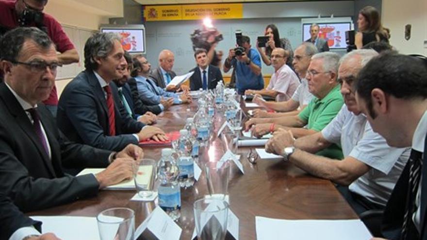 Reunión Plataforma pro Soterramiento con Ministro de Fomento el pasado 14 de septiembre