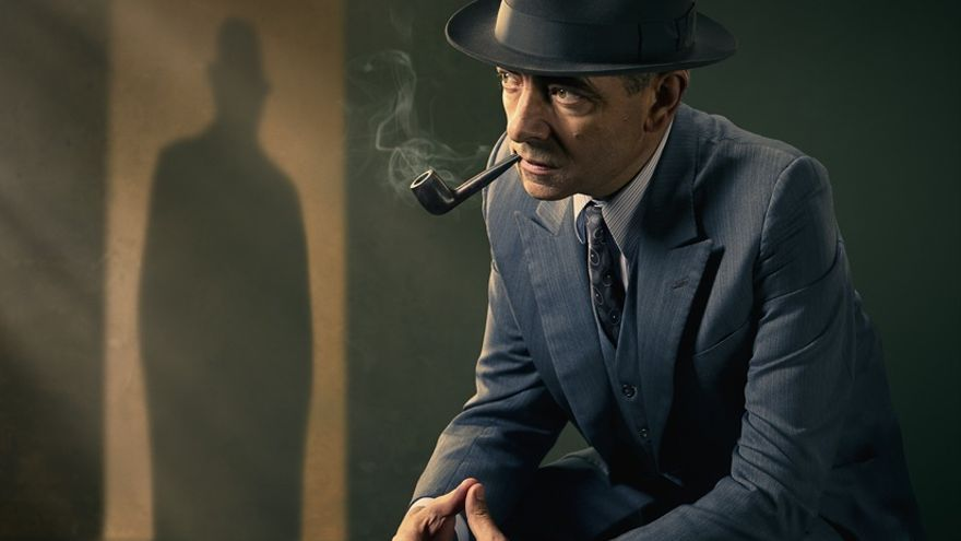 Rowan Atkinson en el papel del mítico Maigret