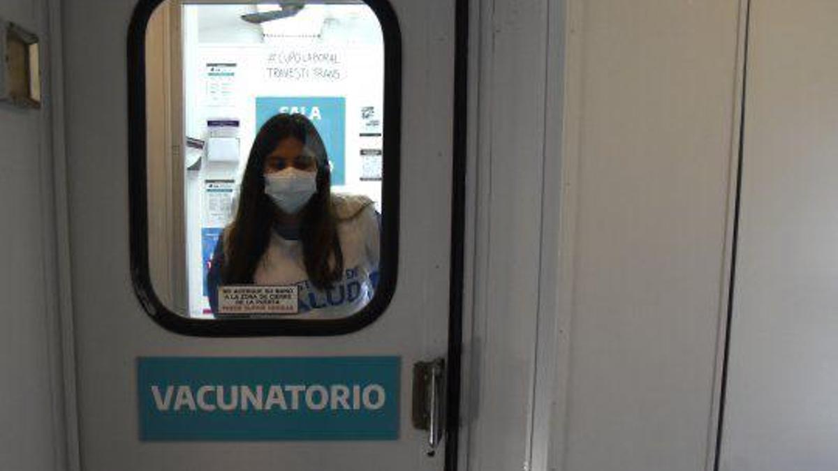 El tren vacunatorio