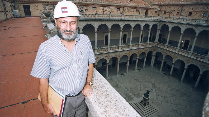 Juan Sánchez en la Biblioteca de Castilla-La Mancha