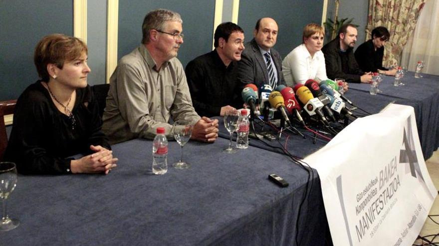 PNV, Bildu y los sindicatos ELA y LAB apoyan la manifestación de hoy en Bilbao
