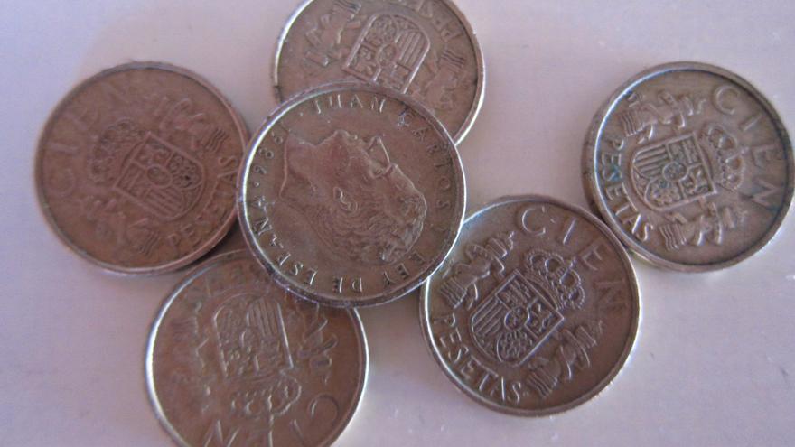 Los españoles aún poseen 1.691 millones de euros en pesetas
