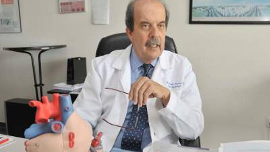El cardiólogo Alfonso Medina Fernández-Aceytuno.