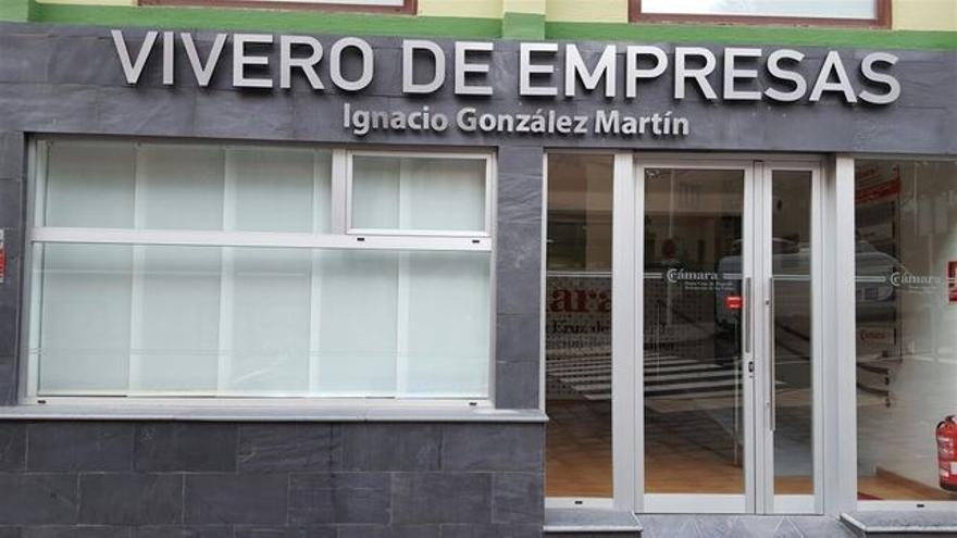 Vivero de Empresas de la Cámara en Santa Cruz de La Palma.