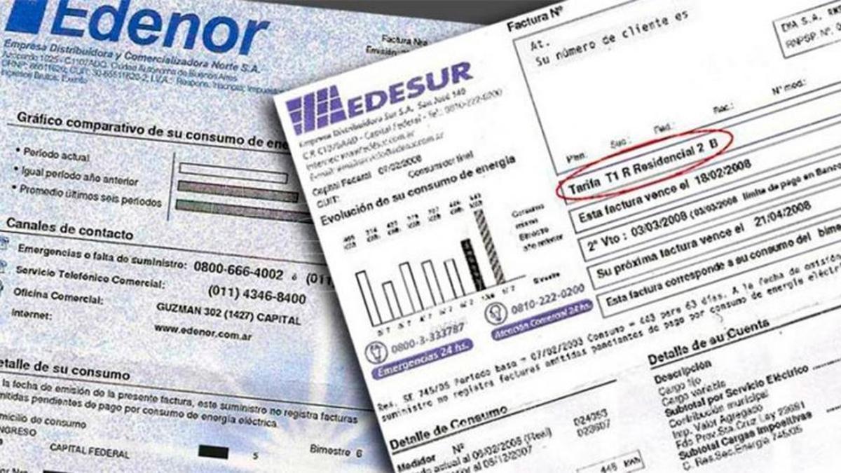 Rige un aumento del 9% en las tarifas de Edesur y Edenor
