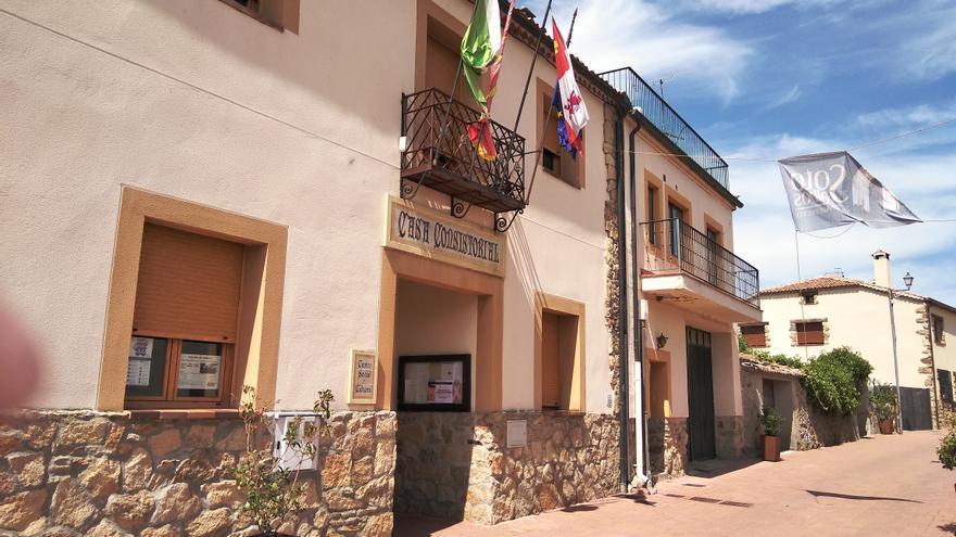 Ayuntamiento de Sotosalbos (Segovia), donde está empadronado Javier Maroto.