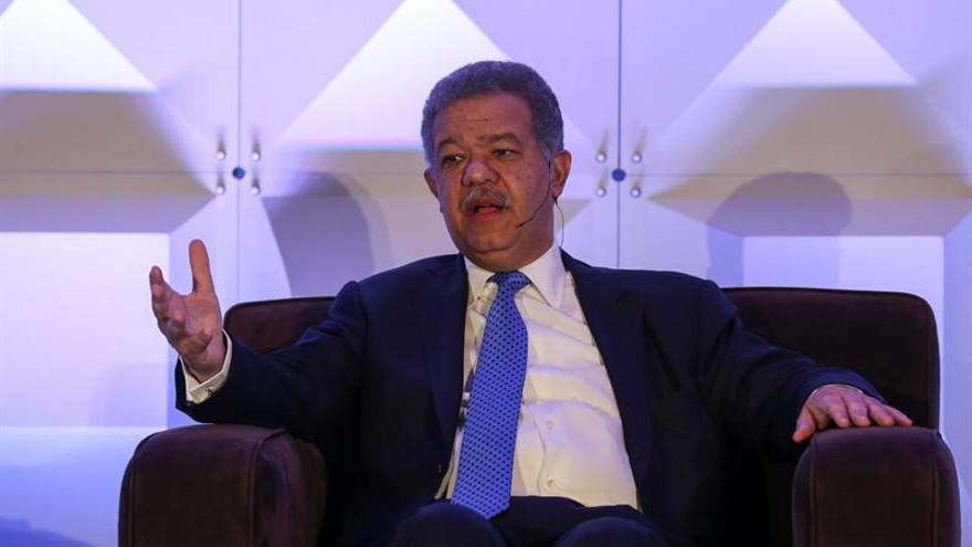 """Leonel Fernández """"esperanzado"""" ante el nuevo intento de diálogo en Venezuela"""