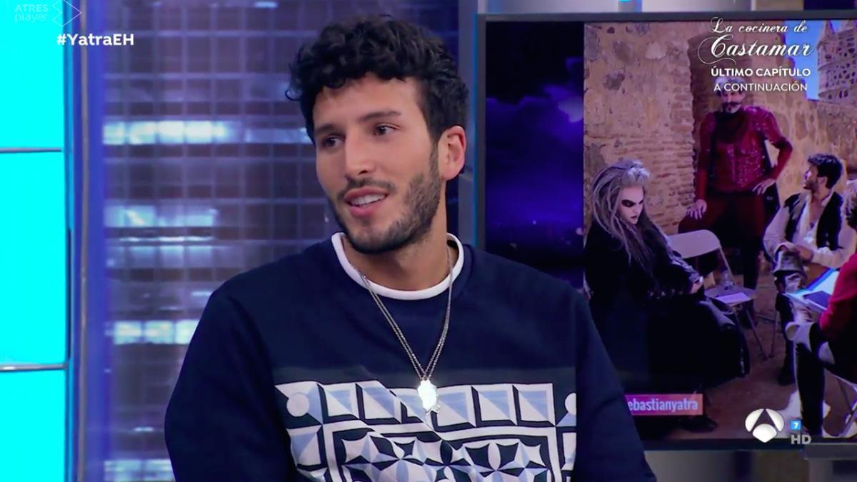 Sebastián Yatra, en 'El Hormiguero'