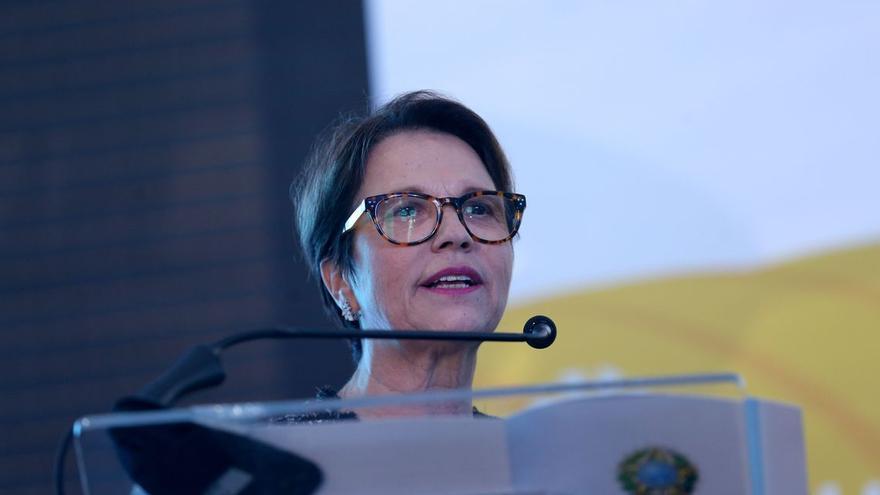 Teresa Cristina, ministra de la agricultura.