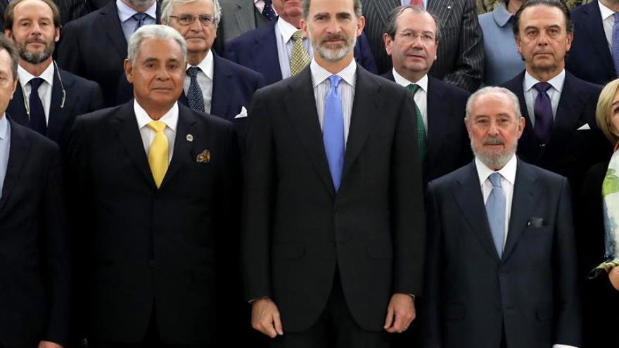 La Asociación Mundial de Juristas da a Felipe VI el Premio Mundial de la Paz