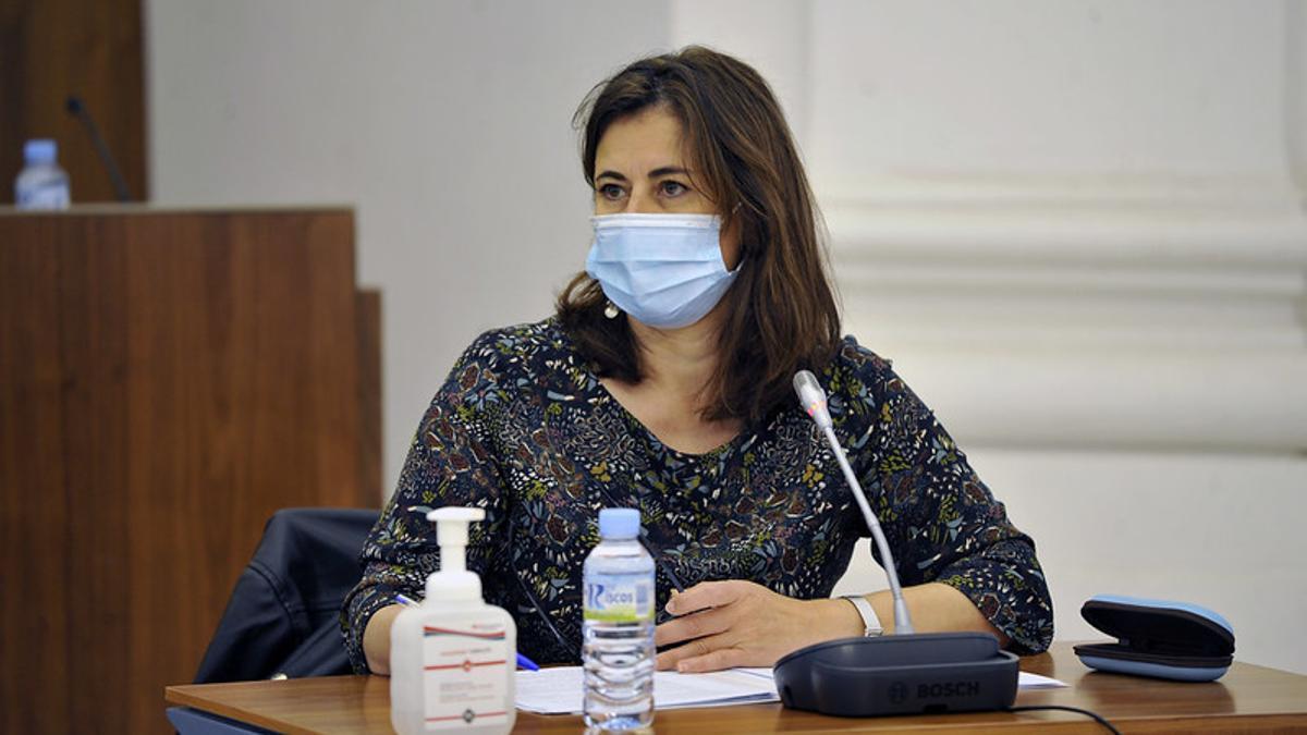 La directora general de Financiación Autonómica y Fondos Europeos, Lourdes Hernández