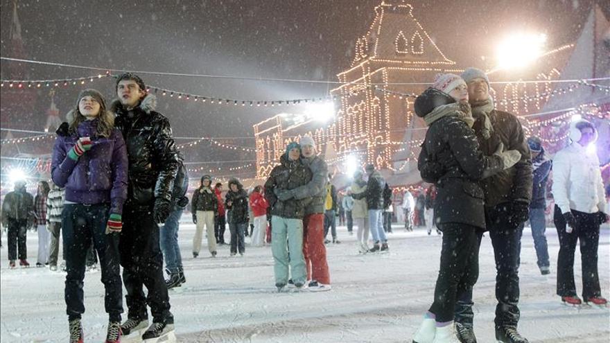 Moscú cierra la Plaza Roja esta Nochevieja al público