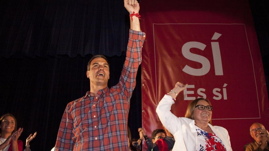 """Pedro Sánchez avisa de que si gana exigirá lealtad y algunos deberán """"revisar si representan el sentir de los afiliados"""""""