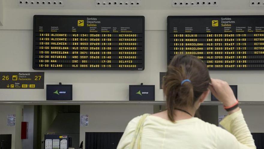 Normalidad en los aeropuertos de Baleares tras el fallo informático de ayer