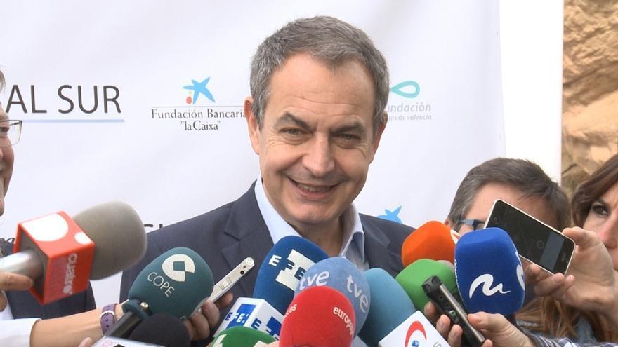José Luis Rodríguez Zapataro, expresidente del Gobierno.