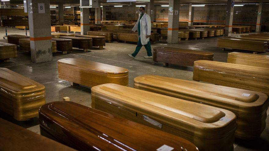 Morgue de Collserola, en Barcelona