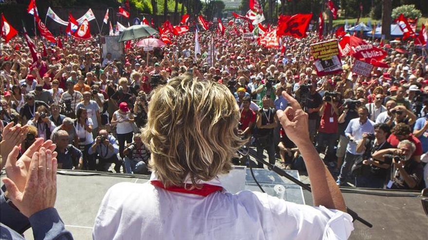 El principal sindicato italiano convoca huelga general para el 5 de diciembre