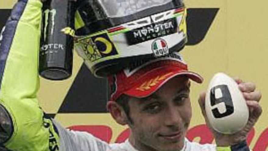 Noveno título mundial para Rossi
