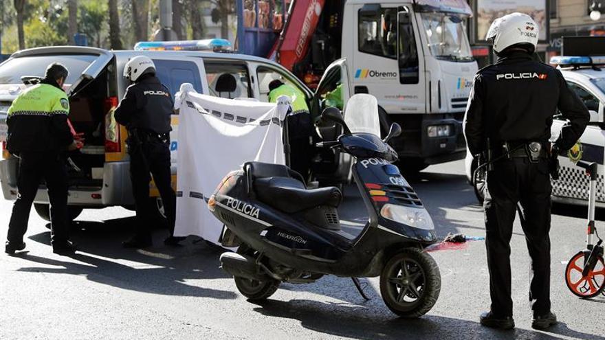 Ciclistas, motoristas y peatones: 10.000 muertos y 500.000 heridos en 10 años