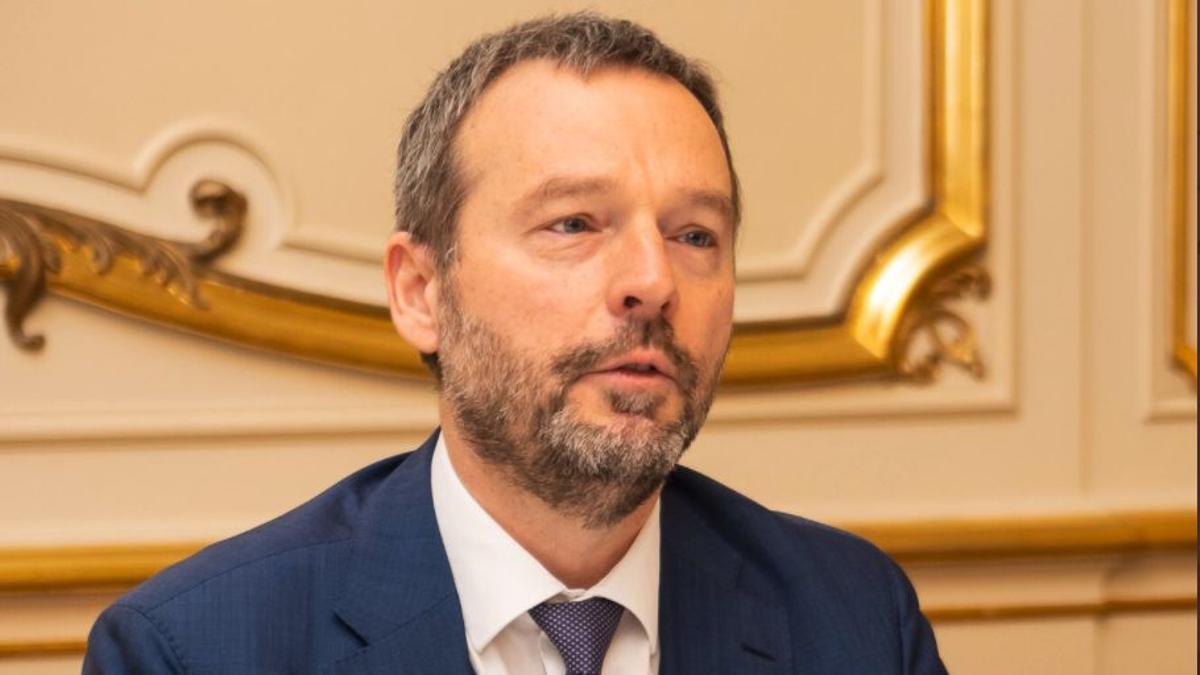 El gobernador del Banco Nacional de Bélgica, Pierre Wunsch.