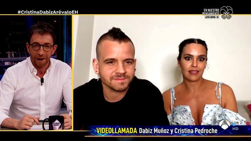 Cristina Pedroche y Dabiz Muñoz en 'El Hormiguero'