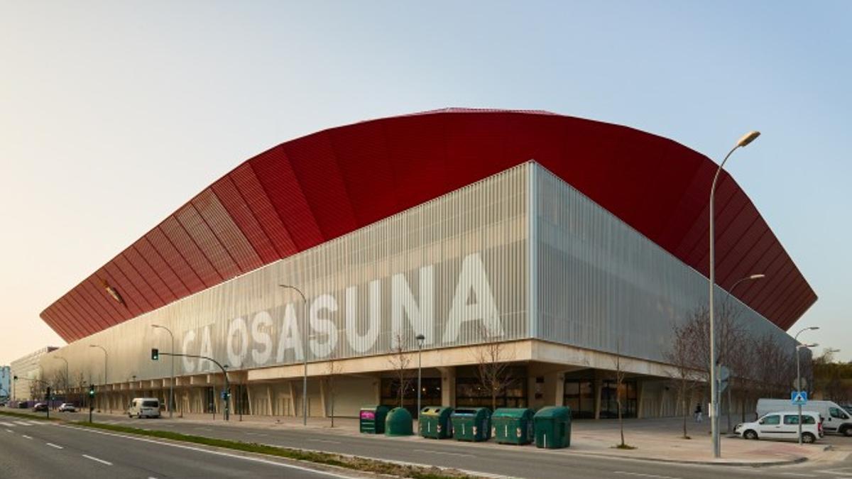 Estadio de El Sadar en Pamplona