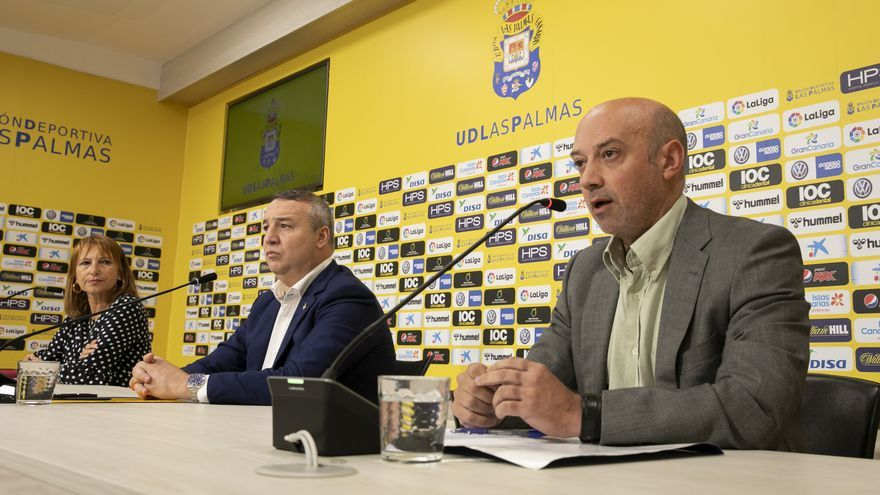 Imagen de la rueda de prensa de presentación.